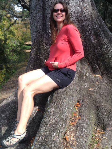 allison-on-tree-at-moss-park