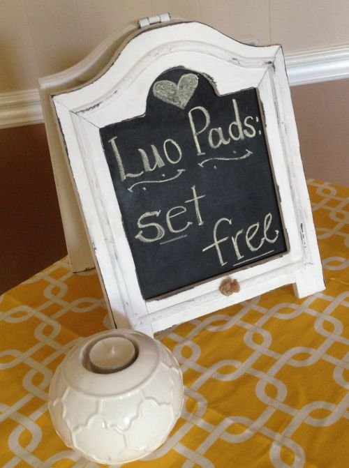 luo pad chalk board