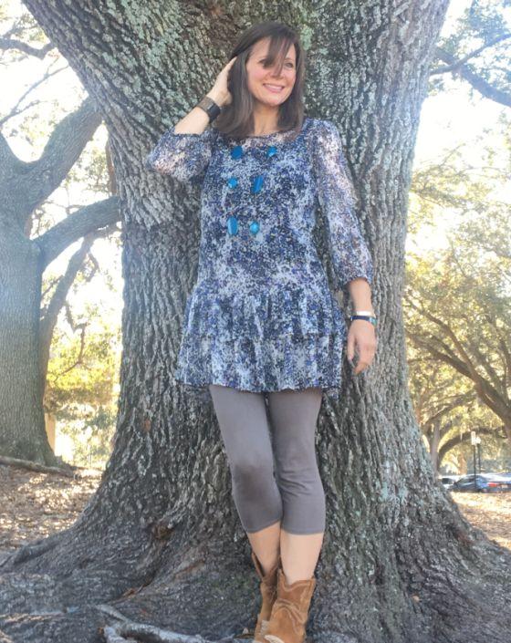 allison at oak tree